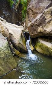 Water Stream Wadi Lajab - Jizan Region Saudi Saudi Arabia