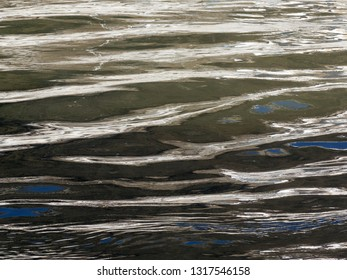 Water Surface as an Abstract image