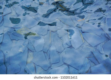 Water surface clean texture background