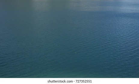 Water surface of a mountain lake