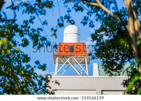 Water Tank Backyard Stock Photo Edit Now 514566139 Shutterstock