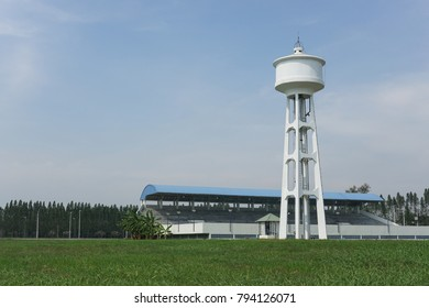 Water tanks   Tower     Sky