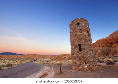 Water Tower, Cathedral Gorge State Park, Nevada