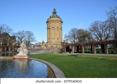 Water tower in Mannheim
