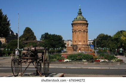 Water tower Mannheim