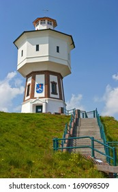 Water tower on Langeoog island in northern of Germany