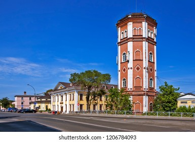 Water tower. Vologda. Russia