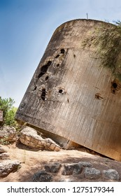 The water tower of Yad Mordechai is a historic landmark of the 1948 war after it was shelled by the Egyptian Army.