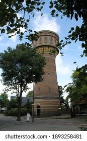 The Water Tower in ZEIST, NETHERLANDS, NEAR UTRECHT A BEAUTIFUL TOWN FOR LIVING 06.18.2014.