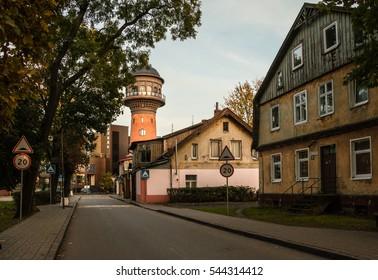 Water Tower, Zelenogradsk, Kaliningrad region, Russia