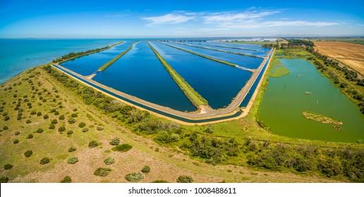 Water treatment plant, Melbourne Australia