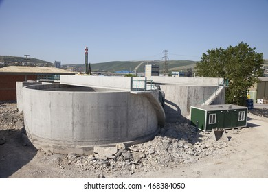 Water treatment plant's construction