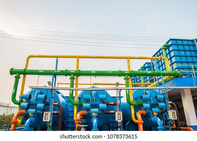 Water treatment process and Water treatment plants, Tank tower