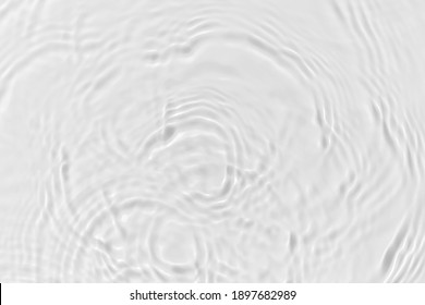 Water waves on the pool. Abstract background. Black and white concept.