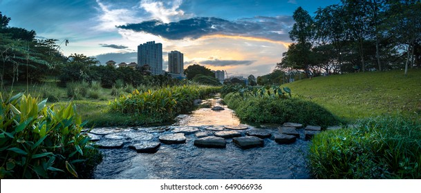 Water way at Bishan - Ang Mo Kio park