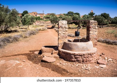 Water Well Atlas Mountains, Morocco, Africa