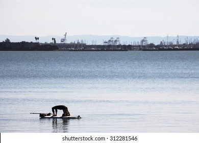 Water yoga.
