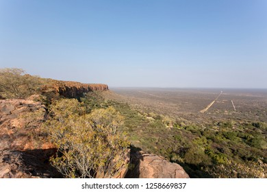 waterberg plateau view in Namibia, south of Africa