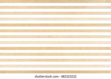 Watercolor beige striped background. Beige gradient pattern.