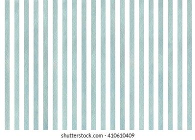 Watercolor blue striped background. Abstract watercolor background with blue stripes.