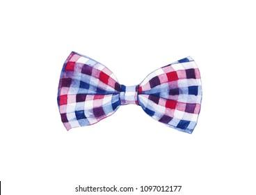 watercolor bow tie