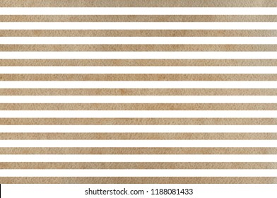Watercolor khaki striped background. Watercolor geometric pattern.