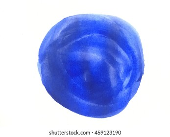watercolor paint on isolated background trend