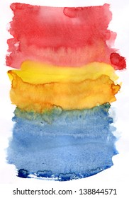 Watercolor painting background