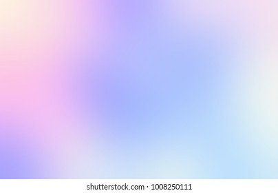 Watercolor pink, violet, blue abstract texture. Rainbow defocus empty background. Spectral glare blurred illustration.