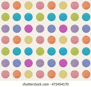 watercolor rainbow pattern polka dot