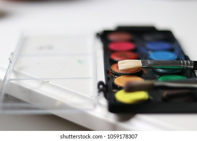 Watercolor set used