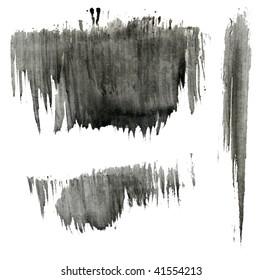 watercolor streaks