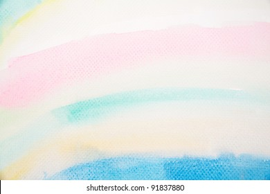 watercolor texture of baby painting