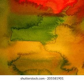 watercolor wash design
