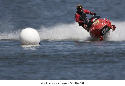 Similar Images, Stock Photos & Vectors of Watercross Race