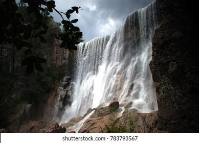 Waterfal Cusarare in Creel