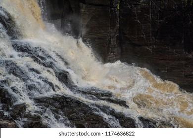 Waterfall in Québec