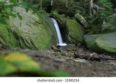 Waterfall in the Allegheny National Forest,Pennsylvania.