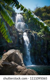 "Waterfall in ""Bassin des Aigrettes"" Reunion Island"
