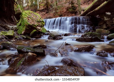 Waterfall in Black Forest (long exposure), Germany