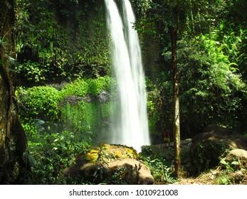 waterfall in borneo