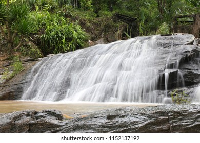 waterfall by slow shutter