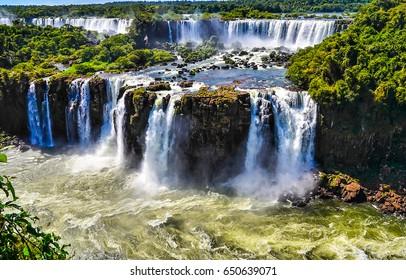 Waterfall cascade landscape