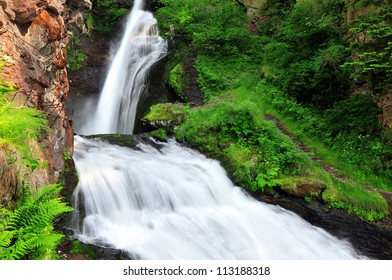 Waterfall of Cavalese,Val di Fiemme,Italy