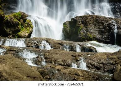 Waterfall in Cianjur, West Java, Indonesia