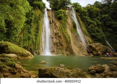 waterfall cikaso Location Sukabumi West Java