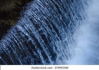 Waterfall, closeup