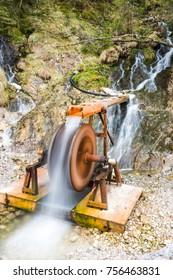 Waterfall in creek