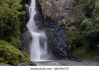 Cascada en el Parque Nacional Ecrins