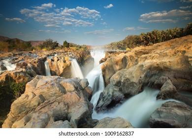 waterfall in Epupa